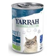 Yarrah Biologisch Kattenvoer Paté met Vis