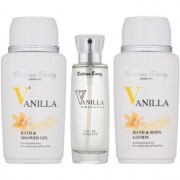 Bettina Barty Classic Vanilla lote de regalo IV. eau de toilette 50 ml + gel de ducha 150 ml + leche corporal 150 ml