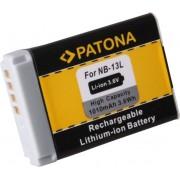PATONA Battery for Canon NB-13L Canon PowerShot G7 X