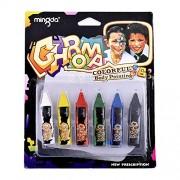 Mingda Fun Face Body Art Painting Paint Makeup Color Crayon Set For Kids, Adults