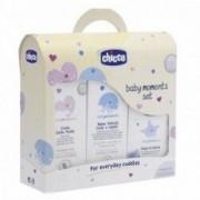 Chicco Set Bagno Per Bambini Composto Da Bagnoschiuma Crema Corpo Fluida Acqua Di Colon