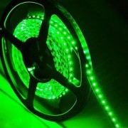 High Density Green Waterproof Led Light Strip SMD 3528 600 LEDs 5 Meter or 16 Feet LED Strip 120 Leds/M