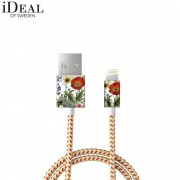 iDeal of Sweden - (MFi) Lightning USB Ladekabel Datenkabel 1m (IDFCL-92) - Flower Meadow