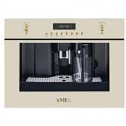 GARANTIE 2 ANI Automat de cafea SMEG, butoane bronz si aurii, timer electronic, afisaj led, dispozitiv exterior capuccino, rasnita integrata, recipient apa 1,8 litri, 5 nivele de reglare a tariei cafelei, CMS8451P