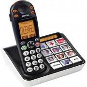 Telefon fara fir pentru persoane in varsta Topcom Sologic B935