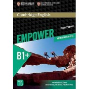 Cambridge English Empower Intermediate Students Book with Online As...