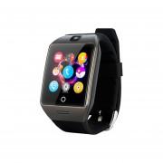 Reloj Smartwatch, Apro Bluetooth Impermeable Smartwatch Apoyo NFC Cámara De Tarjeta SIM (negro)