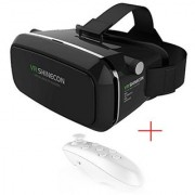 Accincart VR-35 Virtual Reality Glasses 3D Headset for Smarphones upto 5.5- Inspired by Google Cardboard Oculus Rift