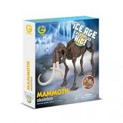 Geoworld-Ice Age Excavation Kit - Mammoth Skeleton