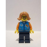 hs023 Minifigurina LEGO Hidden Side-Paola hs023