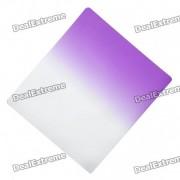 Filtro cuadrado Gradual color purpura para DSLR