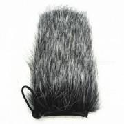 funda para la cabeza a prueba de viento para el pelo de conejo para el microfono de grabacion bidireccional RODE VIDEOMIC GO
