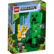Конструктор Лего Майнкрафт - BigFig Creeper и оцелот, LEGO Minecraft, 21156