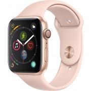 Apple Watch Series 4 44mm zlatý hliník s pískově růžovým sportovním řemínkem
