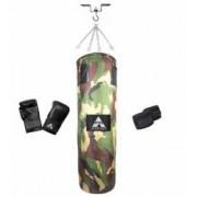 Sac box camuflaj Anastasia Sport 120 cm cu manusi si bandaje lant si carlig prindere