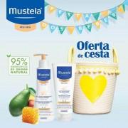 Mustela Cesta Amarela Cold Cream Gel Lavante 300ml & Leite Nutritivo 200ml