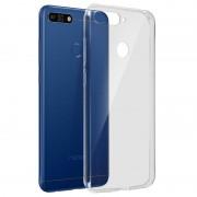 Avizar Funda Silicona Flexible Transparente para Honor 7A/Huawei Y6 2018