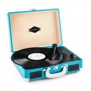 Peggy Sue retro-platenspeler LP USB blauw