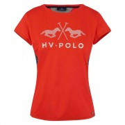 Hvpolo HV Polo Jess Tech T-shirt - Hawthorn Rose - Size: Extra Small