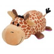 Mascota FlipaZoo 32 cm Girafa si Hipopotam Jay At Play