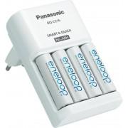 Punjač baterija Panasonic sa 4 bat. eneloop AA (BQ-CC16)