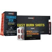 PowGen Sixpack Paket Der Weg zu Bauchmuskeln 6Pack Accelerator, Turbo Fix, Easy Burn Shots Powgen