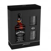 Jack Daniel's 0.70 L cutie carton+2 pahare