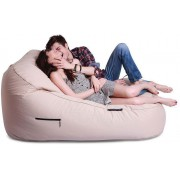 Ambient Lounge Outdoor Satellite Twin Sofa - Yacht Club Cream
