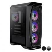 Cutie Semiunitate Micro ATX / Mini ITX / ATX Aerocool Aero One Frost RGB LED Ø 12 cm - Culoare Negru
