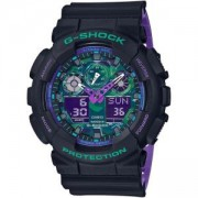 Мъжки часовник Casio G-SHOCK SPECIAL COLOR BLUE PURPLE GA-100BL-1A