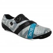 Bont Riot+ Road Shoes - EU 48 - White/Black