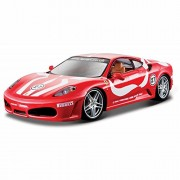 Bburago Ferrari F430 Fiorano, Red - 26009 1/24 Scale Diecast Model Toy Car