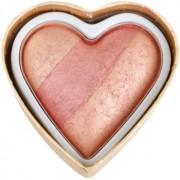 Makeup Revolution I ♥ Makeup Blushing Hearts руж цвят Peachy Keen Heart 10 гр.