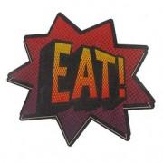 Descanso de Panela Pop Onomatopeia Eat! Quadrinhos