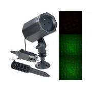 Laser-Projektor mit 3 Sternen-Effekten, innen & aussen, 2,5 Watt, IP44 | Laser Projektor