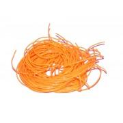 SCOUBIDOU FRANCAIS Scoubidou Orange fluo - le brin de 150 cm