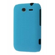 Micro Mesh Case for HTC Wildfire S - HTC Hard Case (Sky Blue)