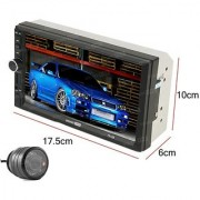 SOUNDFIRE SFX-7012B 7Inch Double Din Touch Screen with BLUETOOTH/SD/USB/AUX/SCREEN MIRROR/ REAR VIEW CAMERA