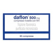 Servier Italia Spa Daflon 500 Mg Compresse Rivestite Con Film 60 Compresse