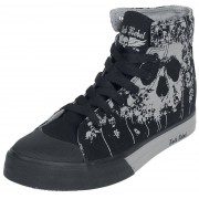 Rock Rebel by EMP Walk The Line Sneakers zwart