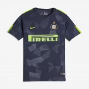 2017/18 Inter Mailand Stadium Third Fußballtrikot für ältere Kinder - Blau