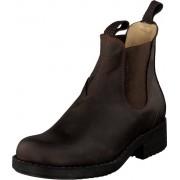 Johnny Bulls Low Elastic Chelsea Brown, Skor, Kängor och Boots, Chelsea Boots, Brun, Dam, 37