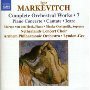 I. Markevitch - Piano Concerto/ Cantata/ Ic (0747313215775) (1 CD)