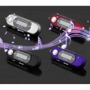 EH Pequeño Reproductor Mp3 Sin Memoria -Plata