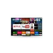 Smart TV OLED 65 UHD 4K Sony BRAVIA XBR-65A8F com HDR, Android TV, Acoustic Surface, Wi-Fi, Motionflow XR, Triluminos, 4K X-Reality Pro, HDMI e USB
