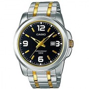 Casio Enticer Analog Black Dial Mens Watch - Mtp-1314Sg-1Avdf (A777)