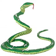 Melissa & Doug Giant Boa Constrictor - Lifelike Stuffed Animal Snake (Over 4 Meters Long)