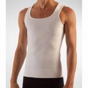 Alakformáló férfi atléta, Farmacell 418, fehér, S