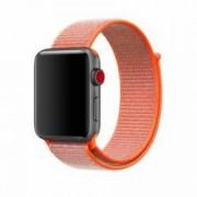 Curea pentru Apple Watch Bibilel compatibil cu dimensiunea 42mm Sport Band Textil Portocaliu BBL489