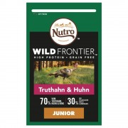 4х1,5кг Junior Wild Frontier Nutro, суха храна за кучета с пилешко и пуешко